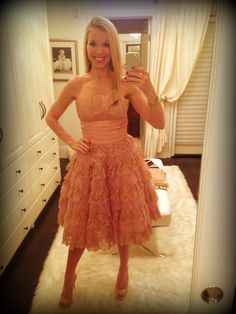 My #princess dress! #pink #dresses #dress #BetseyJohnson @Jessiica Palmer #frills #girly #50sdress #1950s #vintage