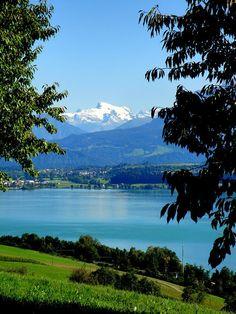 Traveling to Switzerland - fine image