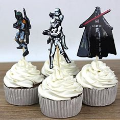 Star Wars Cupcake Picks Assorted - Set of 12