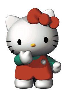 3d Hello Kittty