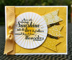 Stampin' Up! Feel Goods Sunshine by skdeleeuw - Cards and Paper Crafts at Splitcoaststampers