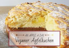 dermaleinst // Veganer Apfelkuchen