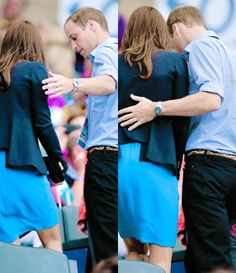 Aw.. Love how protective and gentlemanly he is with her at all times! He was raised right, and he loves her! What a combination!!