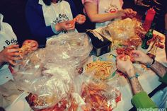 Koreatown: The Boiling Crab    Best Place to eat seafood in LA