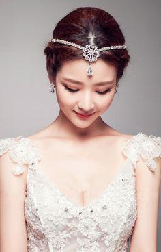 Morpheus Boutique  - White Pearls Crystal Headpiece Bridal Bridesmaid Wedding Hairband, CA$118.61 (http://www.morpheusboutique.com/new-arrivals/white-pearls-crystal-headpiece-bridal-bridesmaid-wedding-hairband/)