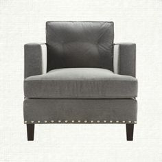View the Flanders Chair at our online furniture store. At Arhaus, we design our own products, search for the best manufacturer while controlling quality, and bring the unique items direct to our customers. Grey Palette, Online Furniture Stores, Affordable Furniture, Formal Living Rooms, Leather Sofa, Interior Architecture, Interior Design, Great Rooms, Living Room Furniture