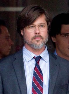 Brad Pitt is your dad in a suit on the set of The Big Short|Lainey ...