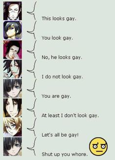 Ah I knew he was gay