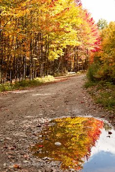 Back roads of Maine in fall  jeff-foliage.com