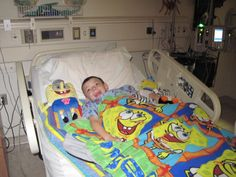in hospital in iowa city before he went to stay with mom and dad