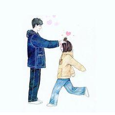 致我們單純的小美好・A Love So Beautiful fanart Cute Couple Art, Anime Love Couple, Couple Cartoon, A Love So Beautiful, Cute Love, Beautiful Drawings, Cute Drawings, Anime Couples, Cute Couples