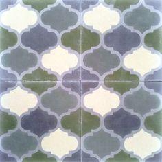 Mosaico Hidráulico/Hand Made Hydraulic Tiles. Mod. 228 Mudejar
