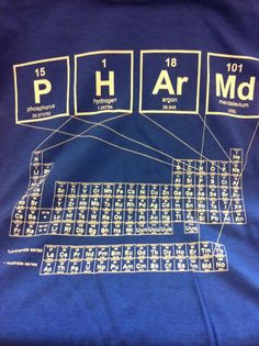 Hey Ole Miss pharmacists - check out this PharmD t-shirt. How cool!