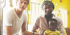 Niall in Ghana... I just love how their lives were totally changed by this whole experience. There's going to be footage of this in the 1D3D Movie, yeah?