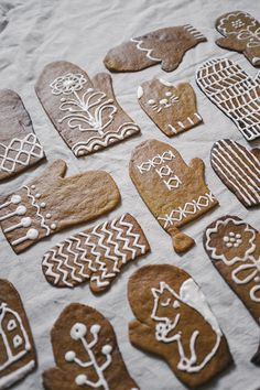 "Fine Little Day ""Gingerbread mittens"""
