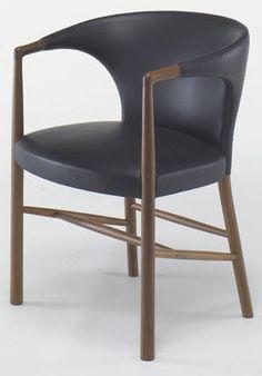 Traditional chair / with armrest JK-05 by Jacob Kjær KITANI