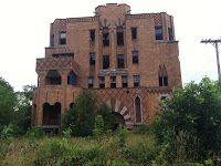The abandoned Laredo Apartments in Detroit, Michigan.