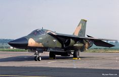 F-111 from 20th Tactical Fighter Wing, RAF Upper Heyford, UK.