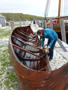 12 May 2017 Göran R Buckhorn writes: The 115-foot, wooden, clinker-built Viking longship Draken Harald Hårfagre – the largest Viking ship that has sailed in modern times – which I wrote about on HT…