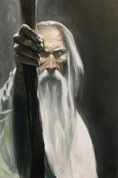 Saruman by Gabriele Dell'Otto