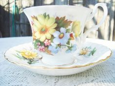 Royal Albert Tea cup and Saucer Bone China by DimitrijNigodoff