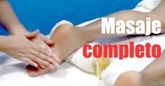 Aprende a hacer masaje relajante completo