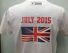 #British - #American #flag. We can #print any #flags of any #countries on the #tshirt, #hoodie, #cap, #underwear or any other clothes and fabrics.    #customprintedtshirt #customprintedshirts #custom #tshirt #hoodie #capprint #tshirtprint  #personalisedtshirt