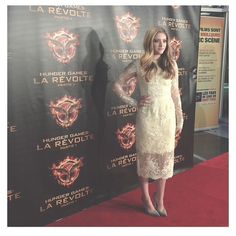 Montreal premiere of Mockingjay Part 1 last night! Styled by law roach