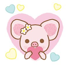 Piggy girl stickers round Whether arguing or falling in love, these cute stickers will warm any girl's heart. Arte Disney, Disney Art, Sanrio, Kawaii Pig, Pig Drawing, Pig Illustration, Roblox Pictures, Mini Pig, Cute Piggies