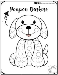 Montessori Art, Do A Dot, Class Activities, Cute Images, Colouring Pages, Diy For Kids, Worksheets, Snoopy, Nursery