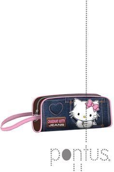 Estojo Charmmy Kitty jeans ref.74383   JB