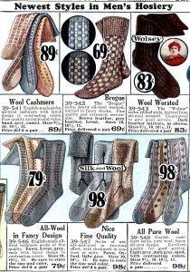 1920s Men's Underwear, Pajamas, Robes and Socks