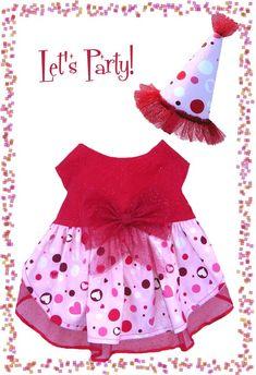 Dog Clothes PDF Pattern To Sew Valentine Dress by MissDaisyDesignsShop