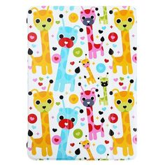 Lofter - iPad Air - Smart Case Cover Hoes Showing Off Deer | Shop4Tablethoes.nl