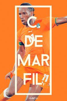 FIFA World Cup 2014 by Ricardo Mondragon, via Behance
