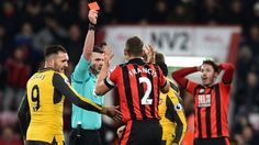 Bournemouth appeal Simon Francis sending off against Arsenal