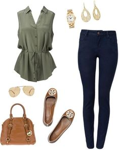 5 spring outfits for college style