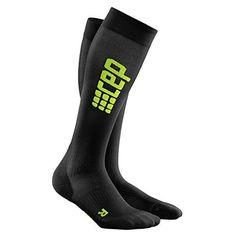 pretty nice 8e3a7 fb54c CEP Womens Progressive Ultralight Compression Run Socks blackgreen Size III  Calf Circumference 3238cm -- See