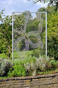 Lace Fence als Garten Accessoire, Spitze mal anders