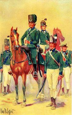 Queen's Rangers, 1776-1783