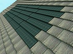 Solar shingles? Awesome!