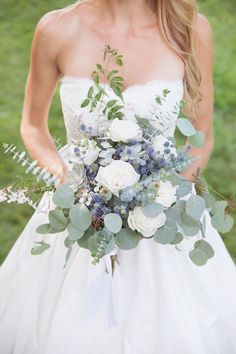 A Breathtaking Wedding With Bridesmaids in White