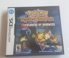 Nintendo DS Dsi Dsl Game POKEMON MYSTERY DUNGEON EXPLORERS OF DARKNESS