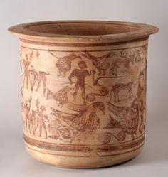 CERÁMICA IBERA ARAGÓN - Las provincias de Lérida, Zaragoza y Teruel configuran un grupo propio dentro de las cerámicas pintadas ibéricas.