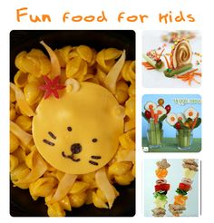 Fun and healthy food for kids!