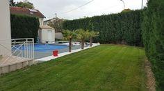 Aménagement autour d'un piscine