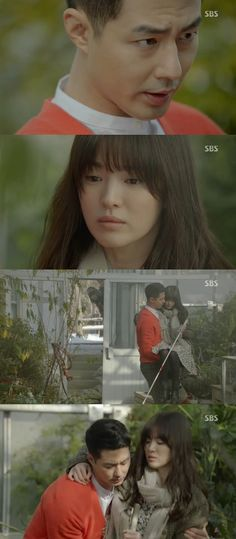 """Oh Young(Song Hye Kyo) finally opened up her heart to Oh Soo(Jo In Sung), in the latest episode of """"That Winter, The Wind Blows."""""""