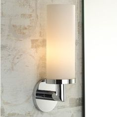 Our Bathroom sconce  Restoration Hardware