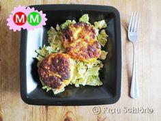 Mittwoch Mittag Kartoffeltaler mit Wirsing 1