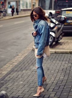 nude and denim